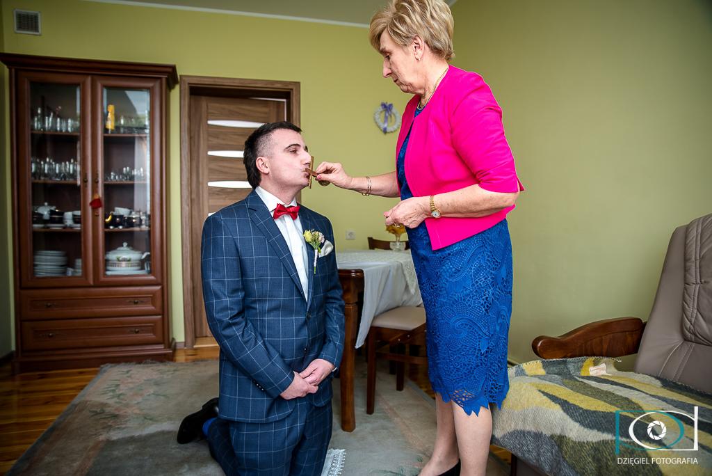 błogosławieństwo - Fotografia ślubna