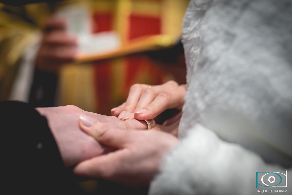 obrączki -ślub