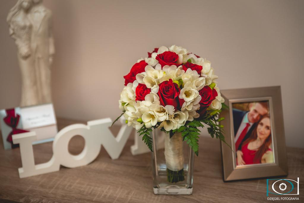 kwiatki weselne - ślub