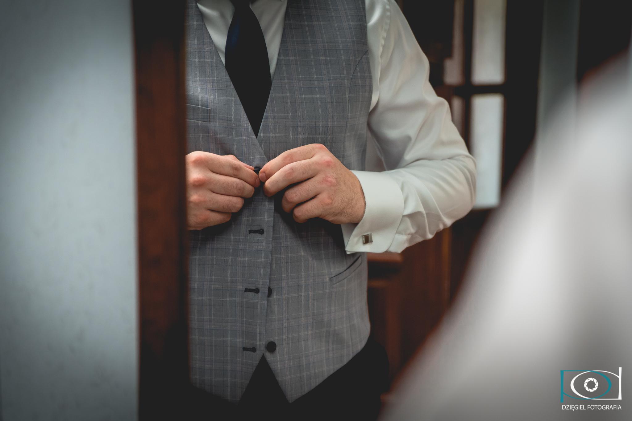 kamizelka z garnitury