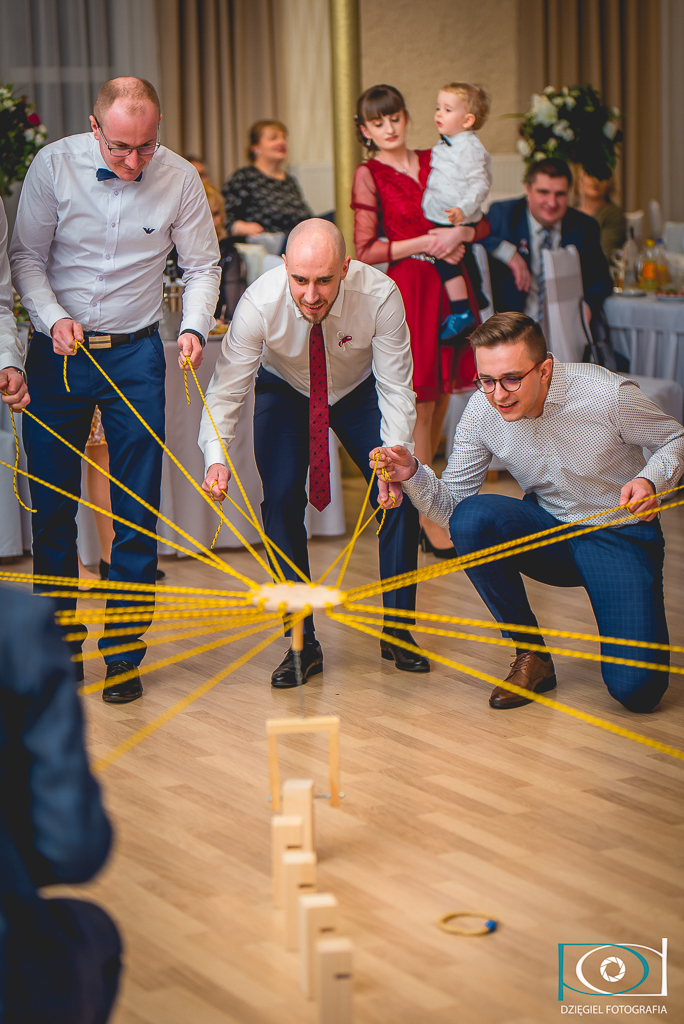 zabawy na ślubie