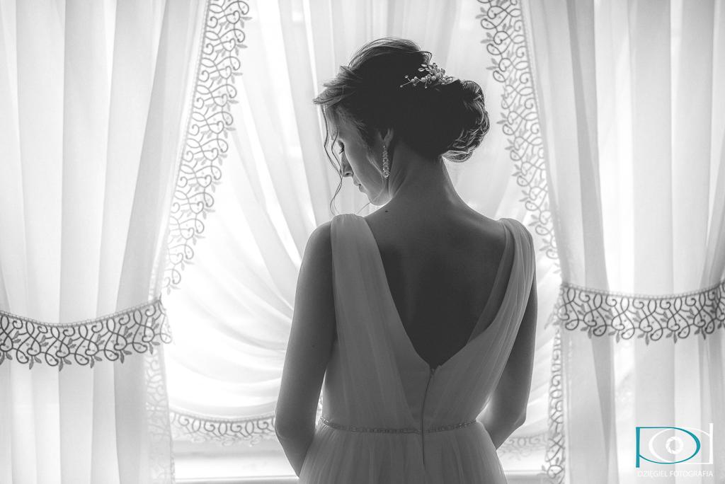 portret ślubny, Pani Młoda, ślub , fotograf