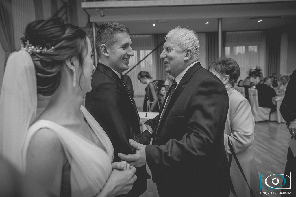 gratulacje na weselu