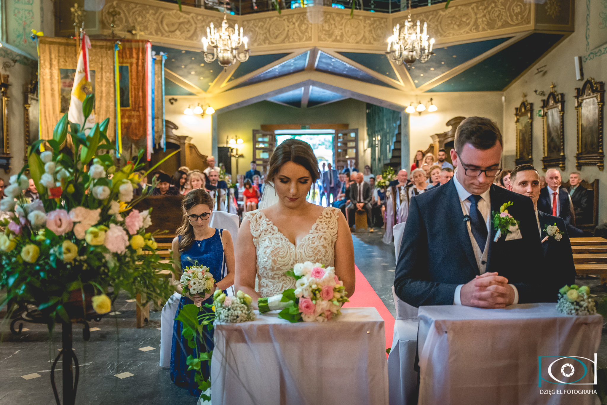 modlitwa w kościele ślub
