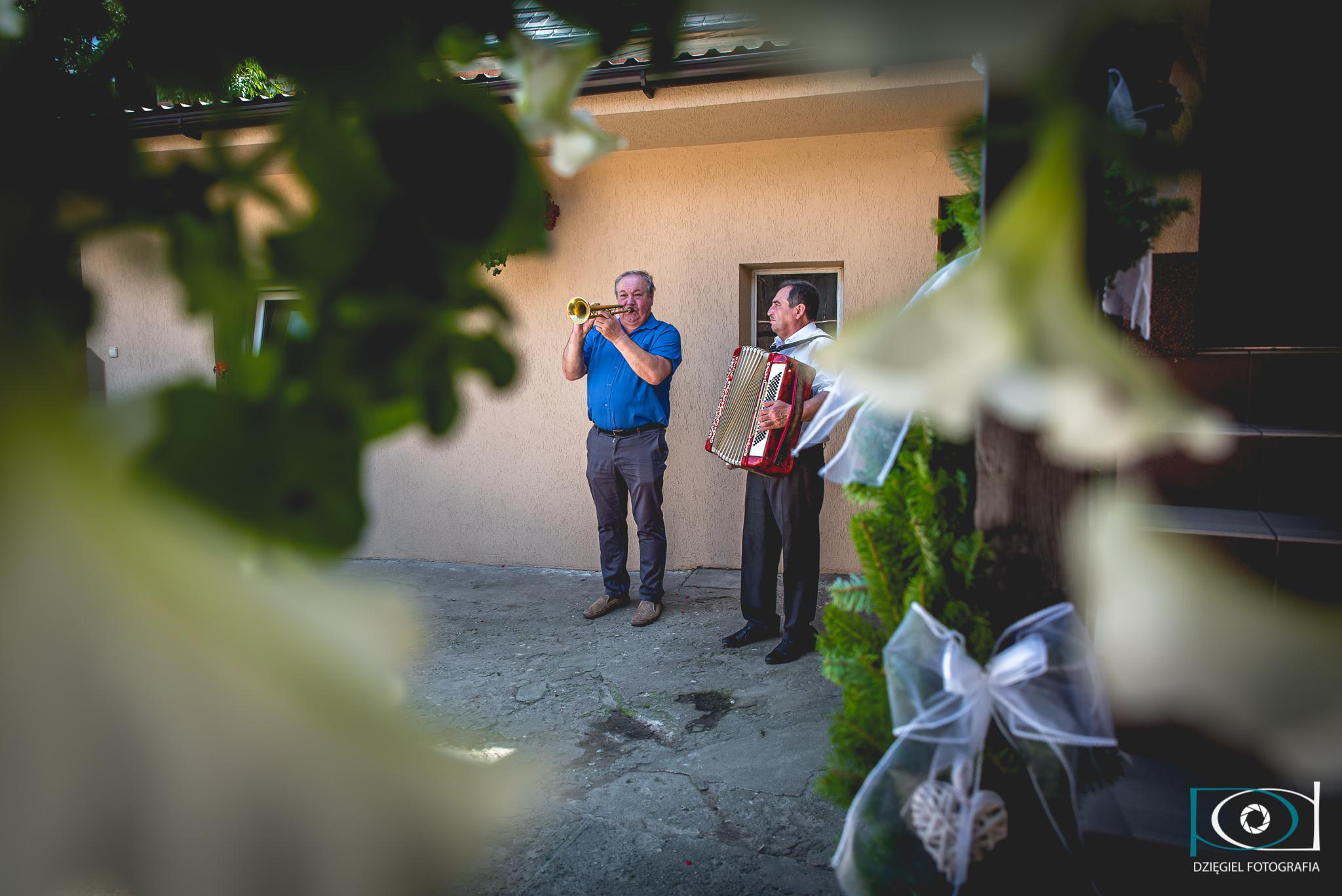 muzyka przed ślubem
