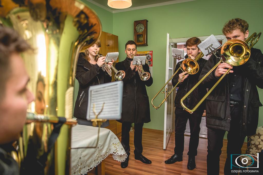 zespól muzyczny - ślub