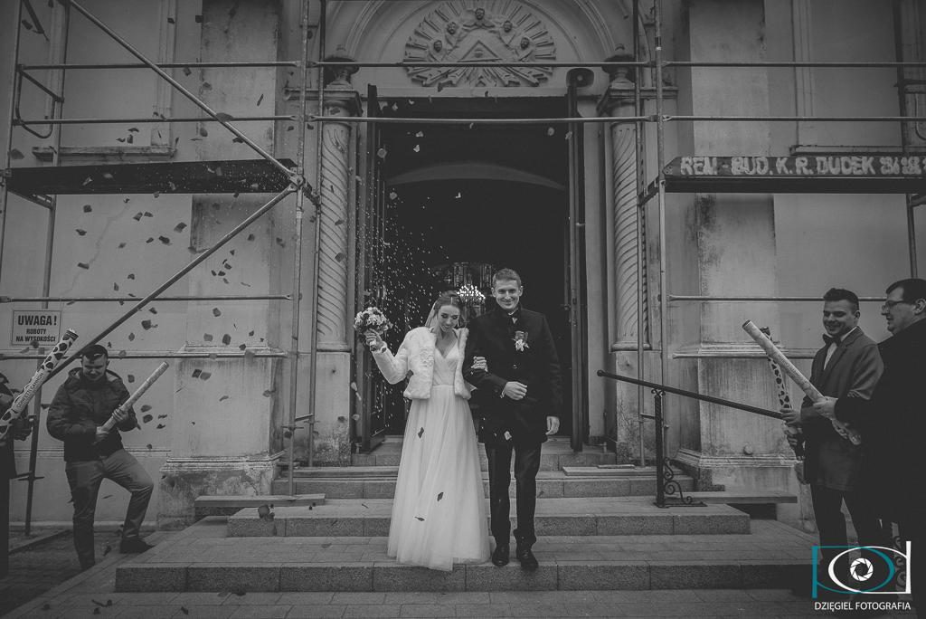 tuba róż-ślub