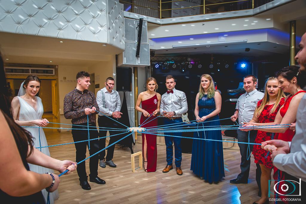 zabawa dla młodych- wesele