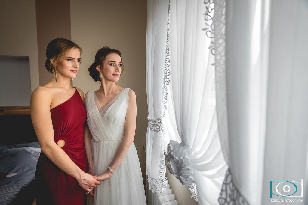 siostry, wesele ślub