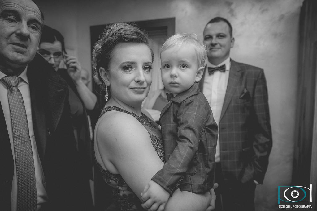 mały gość-wesele